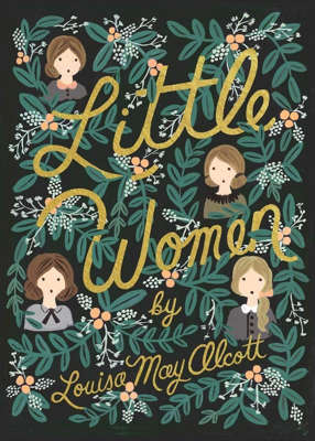 background pattern: Originally published in two volumes, Little Women is one of the best-loved books of all time. The semi-autobiographical novel, set in New England during the Civil War, tells the sweet story of four sisters—Meg, Jo, Beth, and Amy—who share a deep bond despite their different personalities and desires. The eighth film adaptation of the novel (December 2019) stars Saoirse Ronan, Emma Watson, Timothée Chalamet, and Meryl Streep.First published: 1868 and 1869