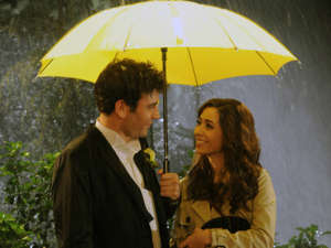 Cristin Milioti that is standing in the rain holding an umbrella: How I Met Your Mother's fake-out finale is reviled as one of the worst of all timeCBS