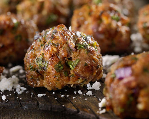 Slide 4 of 26: Frozen meatballs cost about $3 a pound and offer large portions. Simply heat them up in the sauce of your choice ($2), such as barbecue or marinara, and serve with toothpicks for a fun and tasty party dish.Related:Delicious Foods Worth Buying at Ikea — and Some to Skip