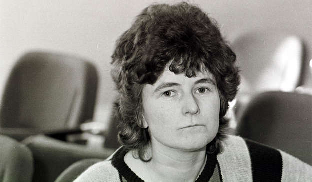 a person looking at the camera: Joanne Hayes and her family will receive €2.5million in compensation for the suffering they endured during the Kerry Babies scandal 36 years ago. Pic: RollingNews.ie