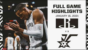 Highlights from the Spurs' home victory over the Houston Rockets on Saturday afternoon.