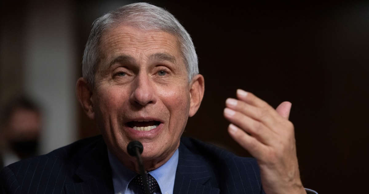 Dr. Fauci Warns We're At Risk of Another Spike
