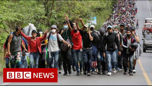 "A group of US-bound Central American migrants has been met with truncheons and tear gas in Guatemala as they attempt to travel on to Mexico, and then the US border.  Thousands of people were intercepted on a road near the border with Honduras on Sunday. The government said it would not accept ""illegal mass movements"".  Every year, tens of thousands of Central American migrants attempt this perilous journey to try to reach the US, often on foot, in groups known as ""caravans"".  President-elect Joe Biden, a Democrat, has vowed to end the strict immigration policies of his predecessor, Donald Trump, a Republican.  #Guatemala #Honduras #BBCNews   Please subscribe HERE http://bit.ly/1rbfUog"