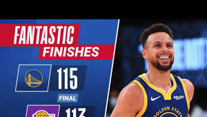 Stephen Curry scores 19 of his 26 PTS in the 2nd half to lead the Warriors back from 19 points down to defeat the Lakers in a FANTASTIC FINISH!  Subscribe to the NBA: https://on.nba.com/2JX5gSN 