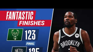 💥 FANTASTIC FINISH 💥  Nets and Bucks go back-and-fourth down the stretch with Kevin Durant drilling the huge triple to lift Brooklyn!  Harden: 34 PTS & 12 AST Durant: 30 PTS, 9 REB, 6 AST & 2 BLK Giannis: 34 PTS, 12 REB & 7 AST  Subscribe to the NBA: https://on.nba.com/2JX5gSN  