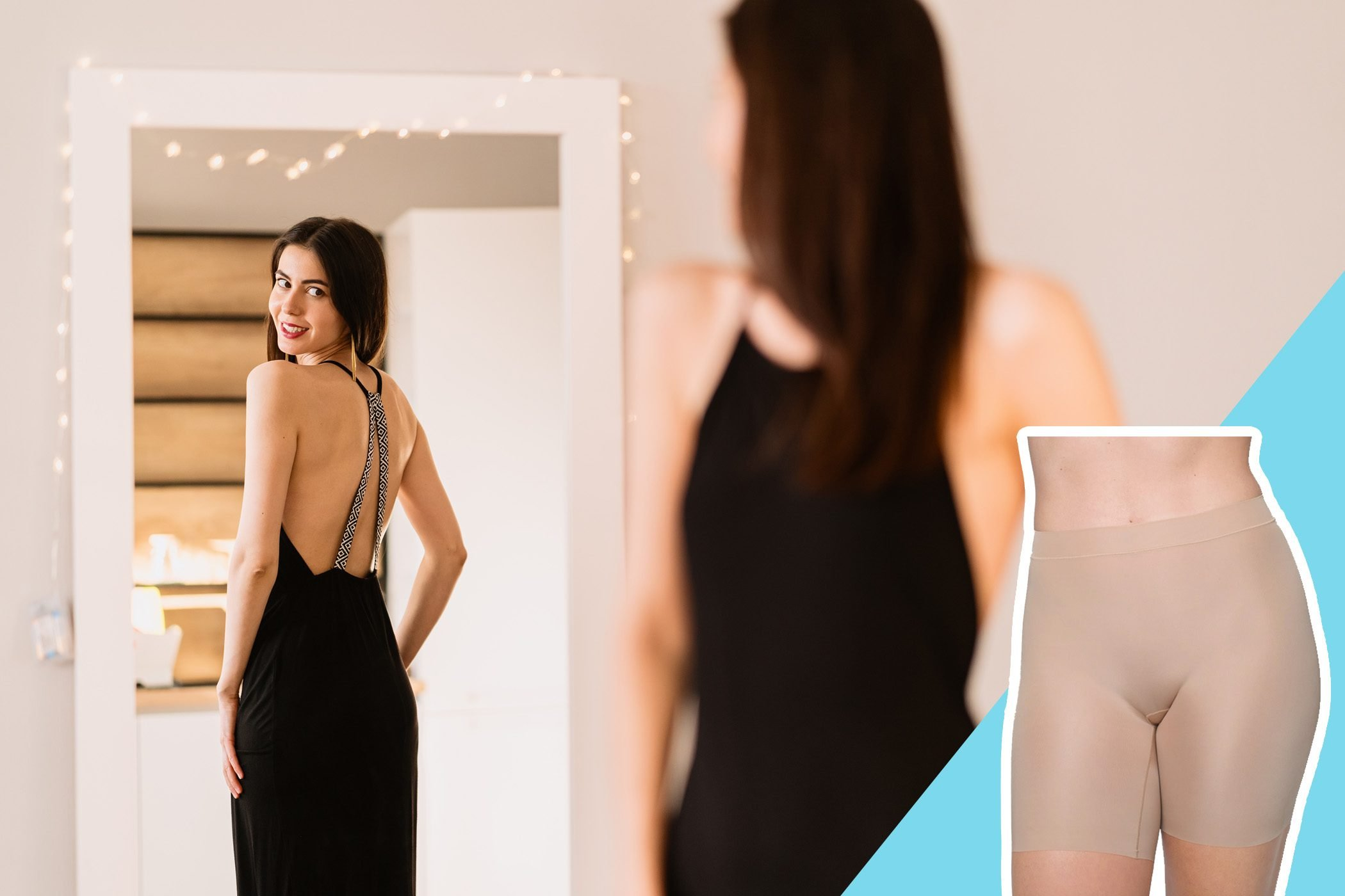 Slide 8 of 16: $26.00 Shop Now It turns out that the most important layers when making an outfit seem expensive are the bottom and top ones. Underpinnings and coats both pave the way to the most put-together looks. Vajda tells her clients to invest in good, trustworthy shapewear they'll feel comfortable wearing beneath their favorite pants, dresses, and skirts. The goal is to present a smooth silhouette and highlight your body's natural shape. These affordable Soma Smoothing Shorts will work perfectly under most of your favorite looks. You should also read up on the best underwear to flatter your butt shape.