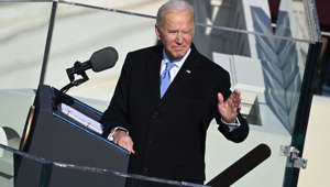 Joe Biden wearing a suit and tie