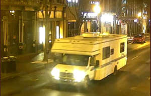 Nashville police released an image of an RV that investigators linked to an explosion that took place downtown on Christmas morning.