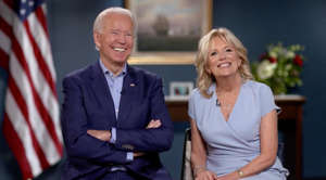 "Joe Biden, Jill Biden smiling for the camera: The incoming president and first lady said their Christmas celebration would be smaller than in years past, ""but it's what we need to do to keep our family safe"""