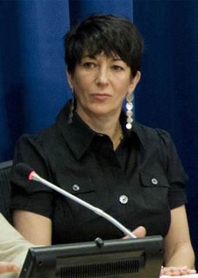 Ghislaine Maxwell sitting in front of a laptop: Ian Maxwell, the brother of former British socialite Ghislaine Maxwell, has claimed that his sister's prison conditions 'amount to torture'. Pic: RICK BAJORNAS/UN PHOTO HANDOUT/EPA-EFE/REX/Shutterstock