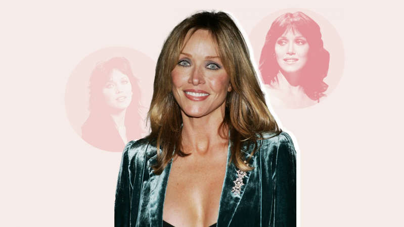 Tanya Roberts, Tanya Roberts are posing for a picture: Getty Images