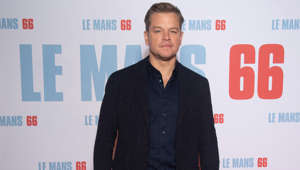 "Jason Bourne standing in front of a sign: The 'Good Will Hunting' star wrote an early draft of the award-winning film during his time at Harvard. However, he never completed his degree in English as he dropped out to take a lead role 'Geronimo: An American Legend'. He later said: ""Let me tell you, I loved Harvard … It was a huge, huge part of my life. I still have time left and I want to go back when I get a chance."""