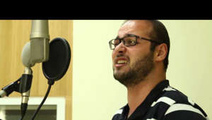 "Samuel Berlad and Hannah Harnest record Schubert's Der Zwerg at ""Sach Hakol"" studio in Jerusalem.  Video and Editing: Larry Brandt"