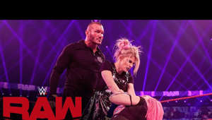 Randy Orton sitting on a stage: Alexa Bliss confounds Asuka in a twisted title match for the Raw Women's Championship until Randy Orton emerges. Catch WWE action on WWE Network, FOX, USA Network, Sony India and more. WWE Network | Subscribe now: http://wwe.yt/wwenetwork