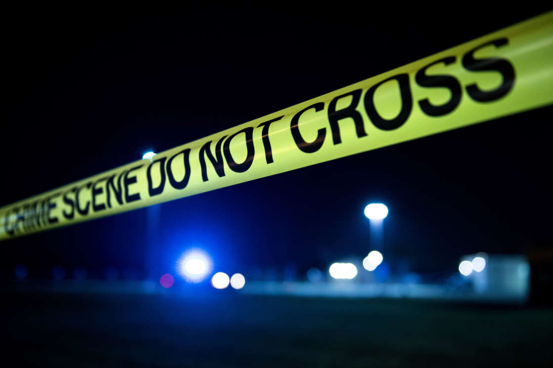 File photo: Crime scene tape is seen after a shooting in Texas. Brandon Curtis, 35, was shot and killed while confronting his teenage daughter's bullies at a home the 10900 block of Spring Brook Pass in the Humble area, his family says.