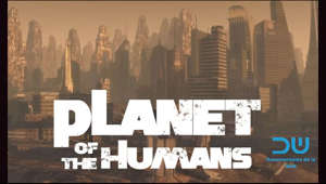 "Planet of the Humans is a 2019 American environmental documentary film written, directed, and produced by Jeff Gibbs. It is backed and promoted by Michael Moore, who served as the executive producer. Moore released it on YouTube for free viewing on April 21, 2020, the eve of the 50th anniversary of the first Earth Day.  A conclusion of the film is that green energy cannot solve the problem of society's expanding resource depletion without less consumption, which is by definition unsustainable given that the Earth is finite.[clarification needed] The film argues that renewable energy sources, including biomass energy, wind power, and solar energy, are not as renewable as they are portrayed to be. The film has generated controversy and been criticized as partially outdated and misleading.  The film was temporarily taken down from YouTube on 25 May 2020 in response to a claim of copyright infringement. The takedown was challenged and, twelve days later, YouTube removed the restriction, allowing the film to be viewed again on Moore's channel.[8] The filmmaker argued that the fragment was used under fair use and that free speech was subverted.  The film uses footage of a solar field that is up to a decade old, which may give a false impression of the maturity of the technologies in the present day. One field of solar panels the documentary shows operates with 8% efficiency of sunlight conversion, which is below the typical 15-20% efficiency of newer solar panels as of 2020.  Attending the launch of a General Motors electric vehicle, an interviewer discovers that the car, being recharged to demonstrate how electric cars are recharged, is being powered from a grid which uses 95% coal, which is not reflective of power grids average, just over 60% fossil fuel in 2019.  A pie chart is shown in the film with total battery storage compared to yearly energy use, which is a factor of a thousand higher. The filmmakers suggest that this amount of energy storage is needed to make sure the intermittency of renewables does not lead to power outages. In reality, battery storage is only part of solving intermittency, and using a mix of different energy sources reduces the need for batteries.  The film claims the carbon footprint of renewable energy is comparable to fossil fuels when taking into account all different stages of their production. However, a large body of research shows the life-cycle emissions of wind, nuclear, and solar are much lower than fossil fuels.  In a letter, filmmaker and environmental activist Josh Fox and academics including climate scientist Michael Mann have asked for an apology and a retraction of the film. They claim the film includes ""various distortions, half-truths, and lies"", and that the filmmakers ""have done a grave disservice to us and the planet by promoting climate change activist tropes and talking points""."