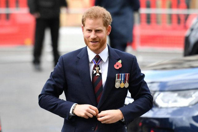 Harry left the UK last year amid acrimony and a reported rift with his brother Prince William, second in line to the throne Photo: AFP / Daniel LEAL-OLIVAS