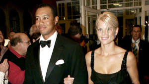 "Tiger Woods, Elin Nordegren posing for the camera: The golf icon was raised as a Thai Buddhist by his Thai mother and often attended temple with her during his childhood. After his high-profile cheating scandal and subsequent divorce, he cited a renewed devotion to his faith for overcoming weaknesses. He said: ""In therapy I've learned the importance of looking at my spiritual life and keeping in balance with my professional life. I need to regain my balance and be centred so I can save the things that are most important to me, my marriage and my children."""