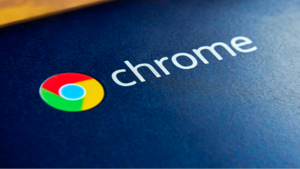 a close up of a ball: Google Chrome Logo