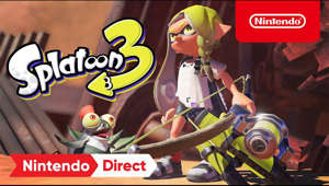 graphical user interface, website: Splatoon 3 arrives on Nintendo Switch in 2022! In the wake of chaos, enter the sun scorched Splatlands and the new city, Splatsville, inhabited by battle-hardened Inklings and Octolings. New weapons, moves, and more await, so be sure to keep an eye out for updates in the future.    #Splatoon3, #NintendoSwitch, #NintendoDirect  Subscribe for more Nintendo fun! https://goo.gl/HYYsot