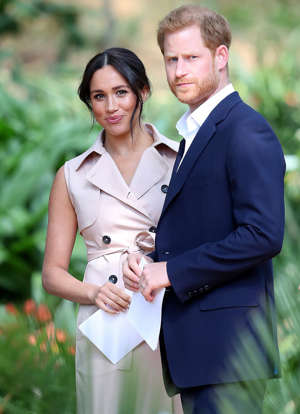 Meghan Markle, Prince Harry are posing for a picture: Chris Jackson/Getty Meghan Markle and Prince Harry