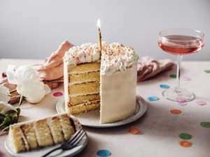 a piece of cake sitting on top of a table: (Photo: iStock)