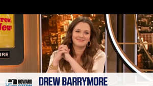 Drew Barrymore holding a sign: Drew Barrymore speaks to her own experience of being put in a psychiatric facility and explains how her relationship with her mom has evolved.   SUBSCRIBE for more videos: http://bit.ly/2qswmZU