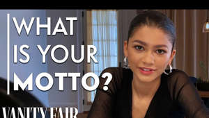 Zendaya posing for a photo: Zendaya answers Vanity Fair's Proust Questionnaire and then reflects on her answers. Through its origins as a parlor game made popular by Marcel Proust, the 35 questions are designed to reveal the nature of Zendaya's true personality. Which living person does she most admire? When and where was she happiest? What is her motto?  Still haven't subscribed to Vanity Fair on YouTube? ►► http://bit.ly/2z6Ya9M