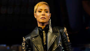 Jada Pinkett Smith wearing a suit and tie