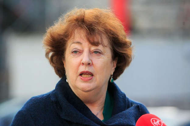 a close up of Catherine Murphy in a blue shirt: Social Democrat TD Catherine Murphy