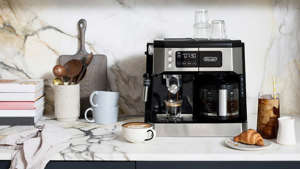 graphical user interface, website: best coffee makers De'Longhi All in One Combination Coffee Maker