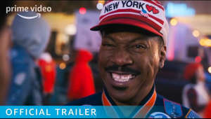 a person wearing a hat and smiling at the camera: An icon returns. #Coming2America arrives to Prime Video on March 5th
