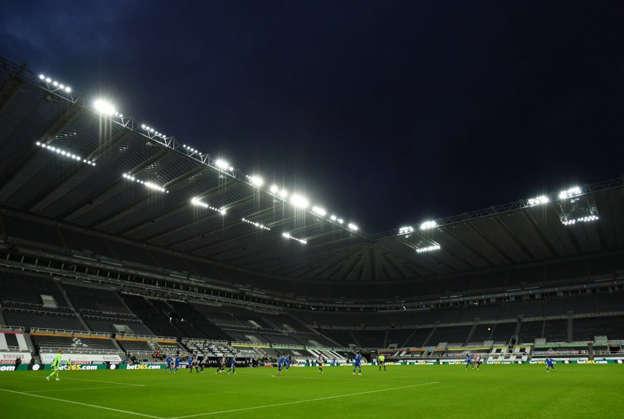 a large stadium: St James' Park