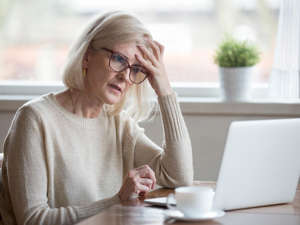 a woman sitting at a table in front of a window: Who knew that salt could even impact your brain function? In a 2018 study from theUniversity of Colorado researchers followed a group of about 5,000 men over the age of 65. They found that men who had slightly lower sodium levels in the blood were about 30 per cent more likely todevelop cognitive decline.