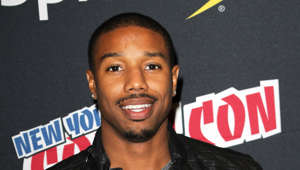 "Michael B. Jordan posing for the camera: During a 2013 interview with HuffPost, Jordan revealed one of his secret talents: tap dancing! The actor said: ""Honestly I was just doing it get out of school early and get free food. I didn't know what I wanted to do at that age. I was doing everything, playing basketball, acting, tap dancing… Do not quote me. (My mother) made me take tap dancing!"""