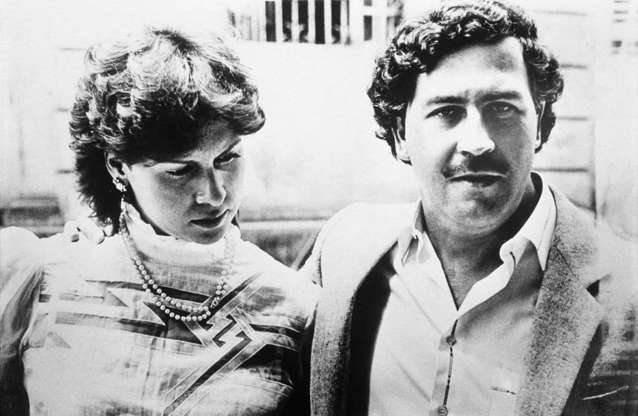 Slide 4 of 29: Pablo Escobar married Maria Victoria Henao in 1976. He was 26 and she was then just 15.