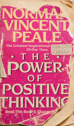 Slide 24 of 29: Authorities found a copy of the self-help book 'The Power of Positive Thinking' among his possessions.