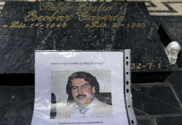 """Slide 26 of 29: """"El Patron"""" died on December 2, 1993, victim of a gunshot wound to the head. It has been speculated that it was suicide."""