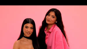 Kourtney Kardashian, Kylie Jenner are posing for a picture: I do Kourtney's makeup using all Kylie Cosmetics products!  http://kyliecosmetics.com