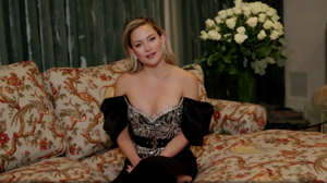In this video grab issued Sunday, Feb. 28, 2021, by NBC, Kate Hudson speaks at the Golden Globe Awards. (NBC via AP)