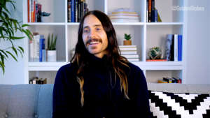 "UNSPECIFIED - FEBRUARY 28: In this screengrab, Jared Leto appears virtually on twitter's livestream of ""HFPA Presents: Globes Countdown Live"", the official pre-show for the 78th Annual Golden Globes broadcast on February 28, 2021. (Photo by HFPA Presents: Globes Countdown Live/Getty Images for DCP and HFPA)"