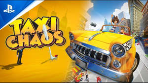 a close up of a car: Rush through the city to deliver your crazy customers! Are you ready for this crazy and chaotic ride?  Get behind the wheel and get ready for a brand-new taxi experience! Drive around the city as the seasoned cab driver Vinny or the self-proclaimed 'influencer' Cleo, and pick up the craziest of customers!  Navigate through crowded streets, dodge pedestrians across sidewalks or even defy the laws of gravity by jumping over rooftops! Nothing is too extreme when it comes to delivering your passengers on time! Discover the best shortcuts and get to know New Yellow City (NYC), as well as your passengers, like the back of your hand.  More information: http://www.taxi-chaos.com/  Follow Lion Castle on Twitter: https://twitter.com/lioncastleent Like Lion Castle on Facebook: https://www.facebook.com/lioncastleentertainment/ Like Lion Castle on Instagram: https://www.instagram.com/lioncastleent/