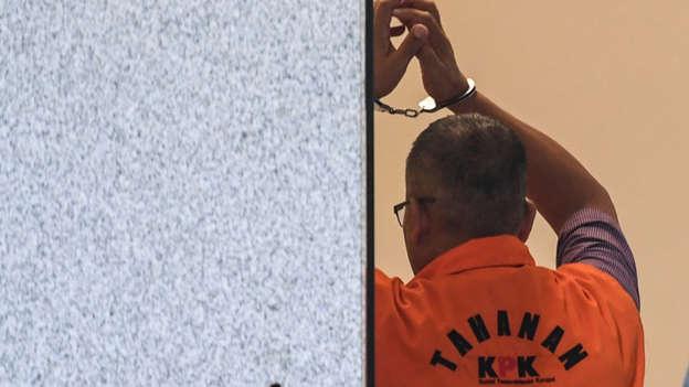 Ilustrasi tahanan KPK. Foto: ANTARA FOTO/Hafidz Mubarak A