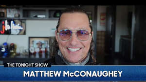 Matthew McConaughey wearing glasses and smiling at the camera: Matthew McConaughey talks about traveling around the country in his Airstream, his political ambitions and the star-studded benefit concert for Texas he's organizing.   The Tonight Show Starring Jimmy Fallon.  Stream now on Peacock: https://bit.ly/3gZJaNy  Subscribe NOW to The Tonight Show Starring Jimmy Fallon: http://bit.ly/1nwT1aN   Watch The Tonight Show Starring Jimmy Fallon Weeknights 11:35/10:35c   Get more The Tonight Show Starring Jimmy Fallon: https://www.nbc.com/the-tonight-show   JIMMY FALLON ON SOCIAL Follow Jimmy: http://Twitter.com/JimmyFallon Like Jimmy: https://Facebook.com/JimmyFallon Follow Jimmy: https://www.instagram.com/jimmyfallon/   THE TONIGHT SHOW ON SOCIAL Follow The Tonight Show: http://Twitter.com/FallonTonight Like The Tonight Show: https://Facebook.com/FallonTonight Follow The Tonight Show: https://www.instagram.com/fallontonight/ Tonight Show Tumblr: http://fallontonight.tumblr.com   The Tonight Show Starring Jimmy Fallon features hilarious highlights from the show, including comedy sketches, music parodies, celebrity interviews, ridiculous games, and, of course, Jimmy's Thank You Notes and hashtags! You'll also find behind the scenes videos and other great web exclusives.   GET MORE NBC NBC YouTube: http://bit.ly/1dM1qBH Like NBC: http://Facebook.com/NBC Follow NBC: http://Twitter.com/NBC NBC Instagram: http://instagram.com/nbc NBC Tumblr: http://nbctv.tumblr.com/   Will Matthew McConaughey Run for Governor of Texas? | The Tonight Show Starring Jimmy Fallon http://www.youtube.com/fallontonight  #FallonTonight #MatthewMcConaughey #JimmyFallon