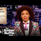a man wearing a suit and tie: The Amber Ruffin Show. New videos every week https://pck.tv/3pOiao8  Earlier this week, a gunman murdered with people, including six Asian women, in a hate crime in Atlanta. Our hearts go out to the families and communities affected by this violence. No one should have to experience the pain they are going through. But this event didn't come out of nowhere. How did we get here?  Show Synopsis: Amber showcases her signature smart-and-silly take on the news of the week, responding to it all with a charming, late-night mix of seriousness, nonsense, and evening gowns.  #PeacockTV #TheAmberRuffinShow #Atlanta