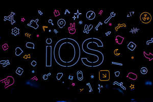 shape, arrow: iOS 14 will get some new features in its upcoming release. James Martin/CNET