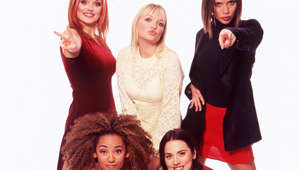 "Melanie Brown, Emma Bunton, Melanie Chisholm posing for the camera: After releasing three albums and nine chart-topping singles, the Spice Girls split in 2000. Ginger Spice left the band in 1998, due to extreme tiredness and ""differences"" between band mates, but the rest of the group continued performing for another two years before they realized that without Ginger Spice, the band would never be the same again. It was during this period that Victoria fell pregnant with and had her first child with footballer David Beckham, a son named Brooklyn, who was born on 4 March 1999.  The following year, the band announced that they were taking an indefinite hiatus to focus on their solo careers."