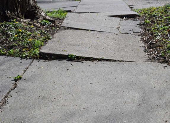 Slide 10 of 12: Cracks in your home's concrete patio or walkways aren't just unsightly, they can be dangerous. They can also be costly to fix, with HomeAdvisor estimating the cost of filling smaller holes or cracks at $100, if you do it yourself. Large repairs can set you back up to $20 per square foot.