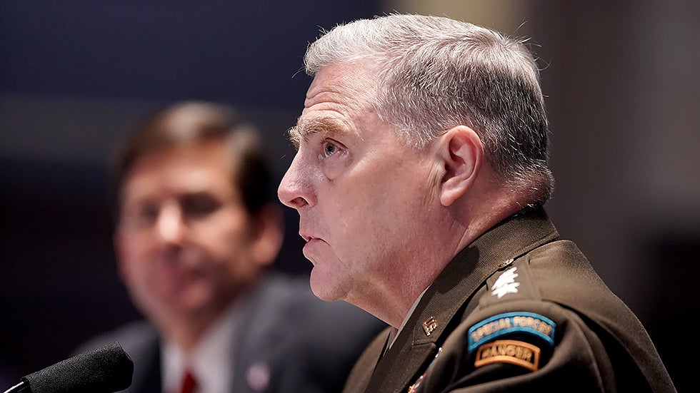 Joint Chiefs chairman clashes with GOP on race theory, 'white rage'