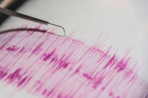 The USGS recorded the Kermadecs quake as 8.1 magnitude. It struck at 8.28am at a depth of 10km, less that two hours after a 7.4 quake near the Kermadecs.